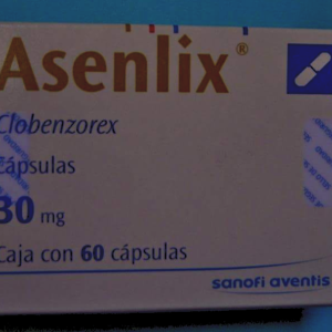 Brand Name: Asenlix Generic name: Clorbenzorex Manufacturer : Sanofi aventis Dosage: 30 mg Form: Capsules Packaging: Box of 60 capsules